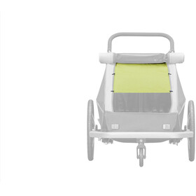 Croozer Solbeskyttelse für Kid Plus / Kid for 2 grøn